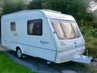 Bailey Ranger 460/2 berth 2003 light weight touring caravan with mover and awning