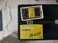 Bass overdrive distortion pedal BOSS