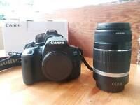 Canon 650d and efs 55-250 is