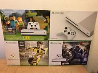Brand new 4K Xbox One S from £169 Full warranty and receipt