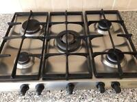 HOTPOINT 5-ring gas hob