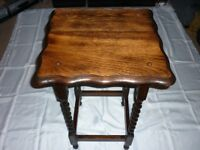 Hall/Side Table, solid wood.