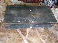 Old carpenter tool box
