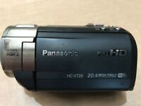 Panasonic HC-V720 Camcorder. £50 for quick sale.