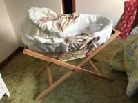 Mamas and papas baby crib.