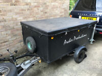 Small 6'x4' trailer with lid for sale