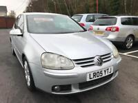 ***GOLF GT TDI 2005 ONLY 85,000 MILES FSH 1 LADY OWNER***