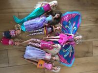 Barbie doll collection - princess, mermaid, fairy, little sisters etc.