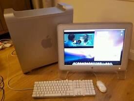 Apple PowerPC G5 & Cinema Display, Desktop Computer