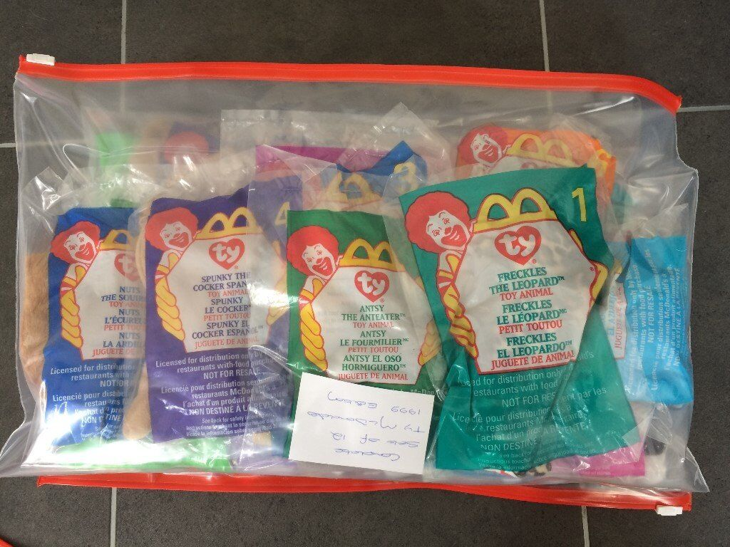 957c189651e McDonalds TY Beanies - complete sets sealed
