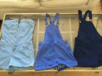 3 Dungarees size 8 £10 each