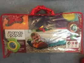 Mamas & papas tummy time mat