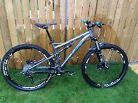 2014 Whyte T-129 Works 29er Mountain Bike - UPGRADED - Medium - Very Good Condition £1300