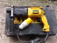 Dewalt DW563L -xw Heavy Duty Hammer SDS Drill 110v