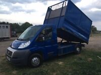 Fiat Ducato 2009 Tipper, Low mileage 20k, 1 owner from new.