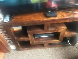 Tv table/side unit
