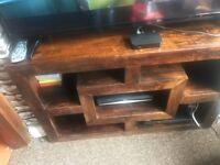 Tv table/side unit