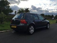 2003 VW Golf 1.6 match £450 ONO - Good condition LOW MILES 69K - NOT CORSA, POLO, ASTRA