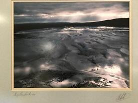 Ten Colin Baxter signed prints. Very large. Beautifully framed in oak.