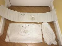 Mothercare Crib Size bedding set. As new!!