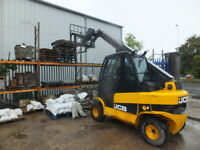 Man and Forlift/Loader for hire. Min half day.