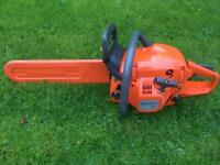 Husqvarna 445 E-series 2012 2 Stroke Petrol Chainsaw Tree Garden Log Wood