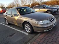 SAAB 9-5 ARC TID,,STAMPED SERVICE HISTORY..1 YEAR FRESH MOT FULL LEATHER INTERIOR.FULLY LOADED £999