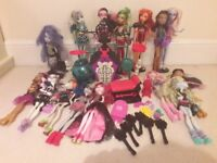 Monster high collection worth £225. Like new