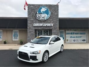 2010 Mitsubishi Lancer RALLIART IN AWESOME SHAPE WITH LOW KMS.