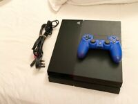 PS4 1TB WITH CONTROLLER AND CABLES,EXCELLENT CONDITION FULL WORKING ORDER £180 NO OFFER CAN DELIVER