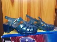 Ladies jelly heels