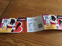 NFL Wembley Tickets Washington v Cincinnati Sunday 30 October