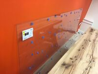 2280mm x 1080mm Polished Strengthened Glass - Incorrect Cut - Paid £100