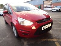 FORD S-MAX 1.6 EcoBoost Zetec 5dr [Start Stop] (red) 2014