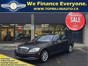 2010 Mercedes-Benz S-Class S550 4MATIC, NIGHT VISION, DISTRONIC