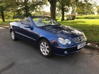 MERCEDES BENZ CLK 320 2005/05 CONVERTIBLE AUTOMATIC