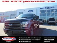 2015 Ford F-150 LARIAT FX4 OFF ROAD PKG NEW 502A