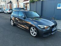 2013 13 REG BMW 1 SERIES 118D M SPORT F20 NEW SHAPE DAMAGED REPAIRABLE SALVAGE 120d