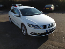 Volkswagen CC 2.0 TDI BlueMotion Tech GT 4dr two tone leather seats
