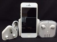 Apple iPhone 5 - 16GB - White & Gold (Vodafone) Smartphone