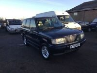 A stunning looking diesel Range Rover fully loaded leather 15 service history stamps In vgc px welc