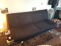 Great Solid Sofa - Bed - Not Ikea type of making - Bargain due to moving out of country