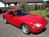 Mazda MX5 Limited Edition 'Isola' 1.6 - 2001 - Very Low Mileage - Full Respray
