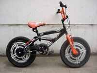 Kids Bike,Black & Orange,18 inch Wheels are Great for Kids 6+, JUST SERVICED / CHEAP PRICE!!!!!!!