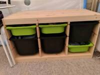 Ikea Trofast children's storage unit, excellent condition