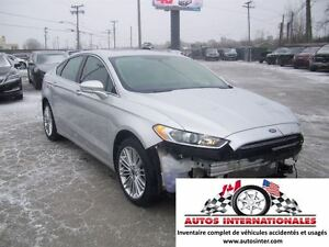 2016 Ford Fusion SE AWD 4X4 2.0T MAG SROOF CAMERA DE RECUL KEYLE