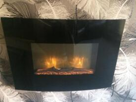 Electric fire (wall)