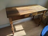 Beautiful wooden desk with draw for office work school library