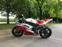 Yamaha R6 2CO, white/red, not damaged