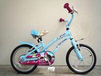 "(2067) 16"" APOLLO GIRLS CHILD CRUISER-STYLE BIKE BICYCLE Age: 5-7, 105-120 cm"